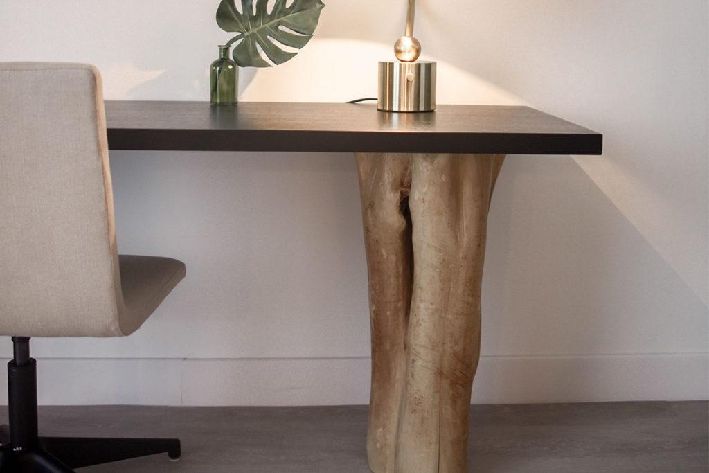 arredo moderno in legno di castagno